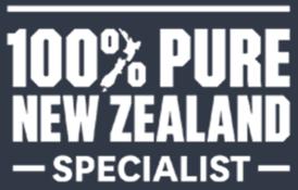100% NZ specialist logo